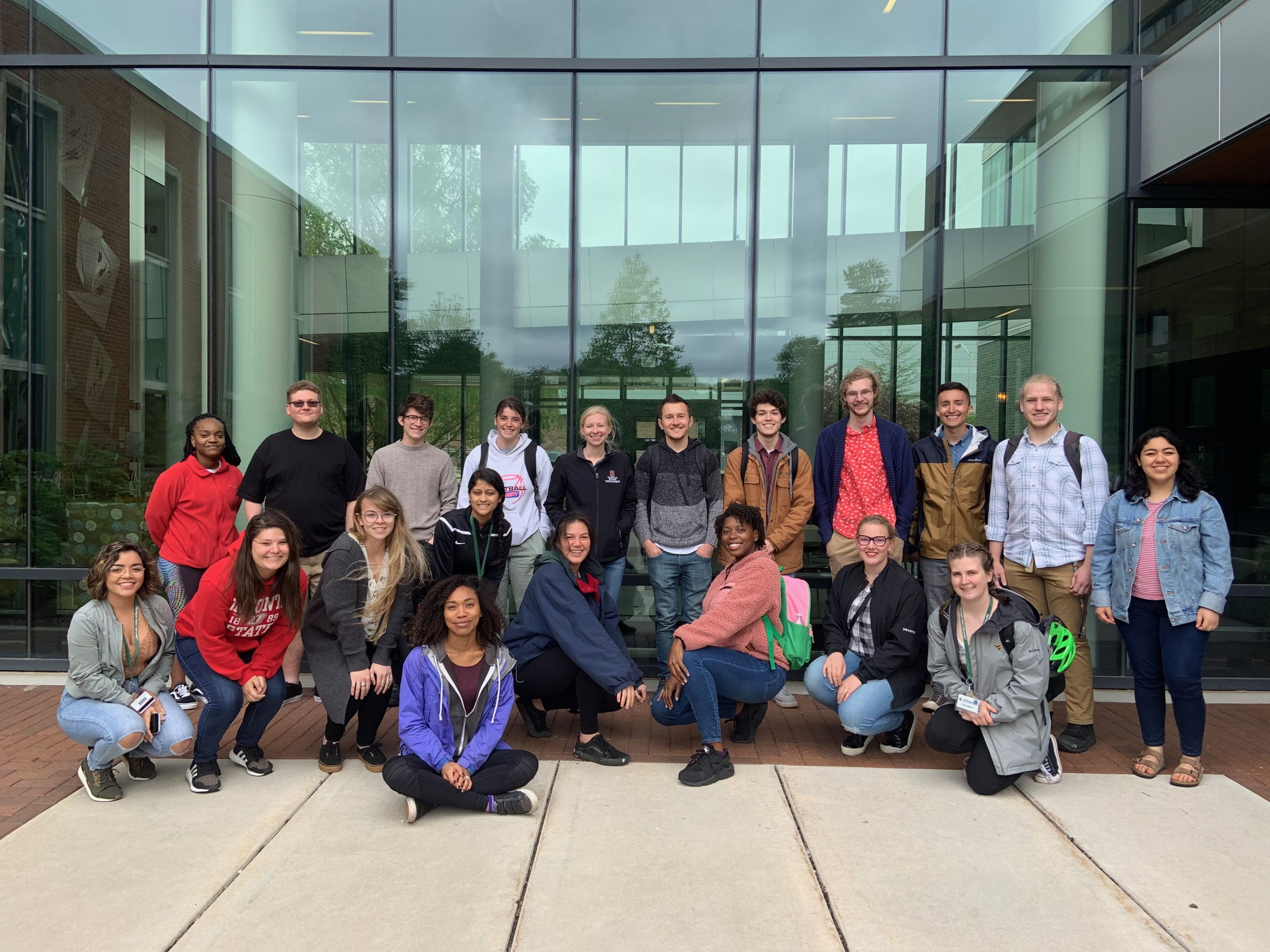 Summer 2019 REU participants